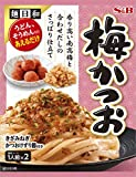 S&B 麺日和梅かつお 53.4g ×5袋