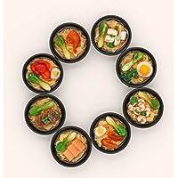 3pcsのボウルRamen Noodles forバービーBJD人形cokkingキッチンおもちゃ1 / 6ドールハウスミニチュアJapanese Food