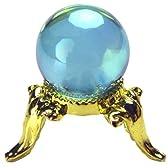 風水アクアオーラ水晶20mm丸玉【台座付き】 ≪夢を叶える石≫