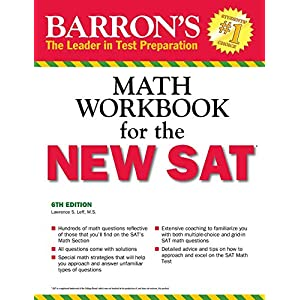 Barron's Math Workbook for the NEW SAT (Barron's Sat Math Workbook)