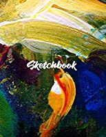 """Sketch Book For Teen Girls and boys: Notebook for Drawing, Writing, Painting, Sketching or Doodling, 8.5"""" X 11"""", Personalized Artist Sketchbook: 120 pages, Sketching, Drawing and Creative Doodling."""