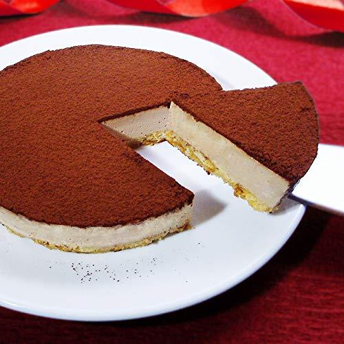 バレンタイン スイーツ 糖質75%カット 低糖質 生チョコレア チーズケーキ(お届け日2月12日〜14日)(バレンタインデーシール・カード付)(糖質制限 チョコレートケーキ 砂糖不使用 Valentineday ギフト)