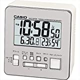 カシオ ウエーブセプター デジタル電波時計 【おき型 置型 卓上 置時計 デジタル casio かしお カレンダー アラーム 温度 湿度 温湿度 F7109HT01】