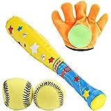子供のスポーツ玩具野球のセット 親子ゲーム 屋外の屋内スポーツ ソフトボールクラブ フィットネスボールのおもちゃ