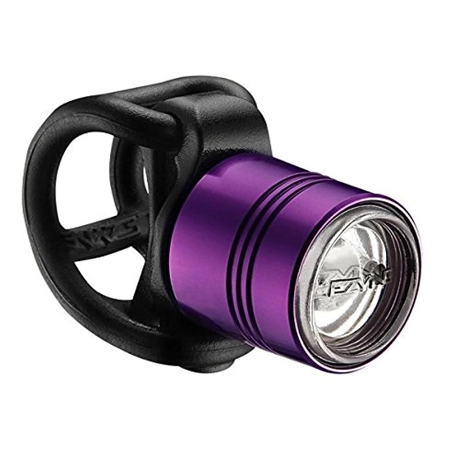 骨の折れる産地自殺LEZYNE レザイン DRIVE LED フロント ライト パープル2014