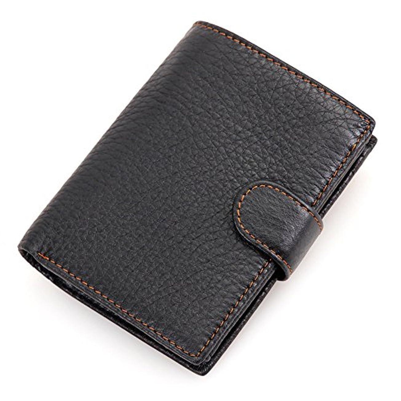割り当て蒸留する騒々しいハナ(HANA)財布 メンズ 二つ折り 革 本革財布 牛革 二つ折り財布 さいふ サイフ 多機能 財布 二つ折 財布 小銭入れ コインケース メンズ
