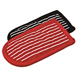 Lodge 2HH2 Striped Hot Handle Holders/Mitts, Set of 2