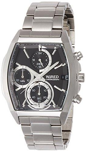 SEIKO WIRED セイコー ワイアード 腕時計 メンズ リフレクション REFLECTION クロノグラフ クォーツ ブラック AGAV127