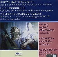 Adagio & Rondeau for Cello & Orchestra (2000-03-01)
