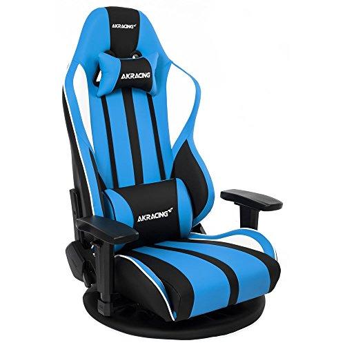 AKRacing ゲーミング座椅子 極坐(ぎょくざ) V2 青色