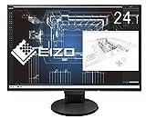 EIZO FlexScan 24.1インチ ディスプレイ モニター (WUXGA/IPSパネル/ノングレア/ブラック/5年間保証&無輝点保証) EV2456-RBK