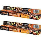 Cookina Barbecue Non-Stick Grilling Sheet (2-Pack)