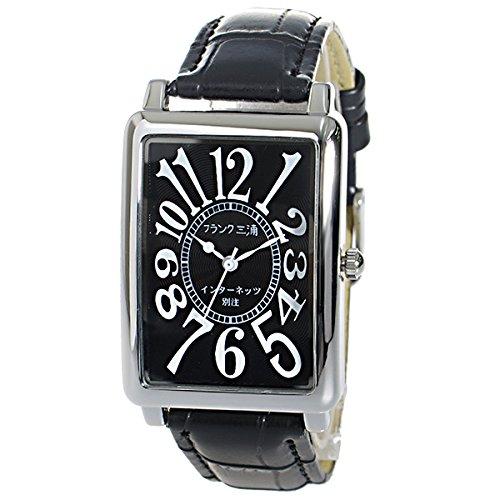 フランク三浦 インターネッツ別注 メンズ 腕時計 FM01IT-BK ブラック/ブラック 【ネット限定】 [逆輸入品]