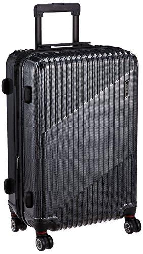 [エース] スーツケース クレスタ エキスパンド機能付 06317  70L 61cm 4.3kg 06317 01 ブラックカーボン