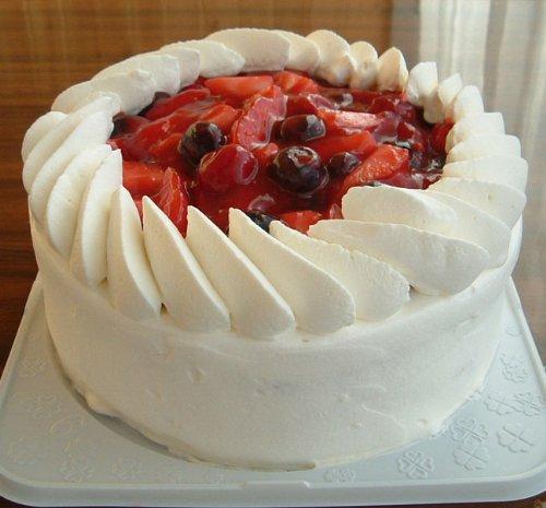 トリプルベリーショートケーキ 5号 直径15cm