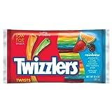 Twizzlers Twists Rainbow ツイストレインボー 6の味の詰め合わせ 340g 並行輸入品