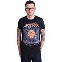 (アンスラックス) Anthrax メンズ トップス Tシャツ For All Kings Cover [並行輸入品]