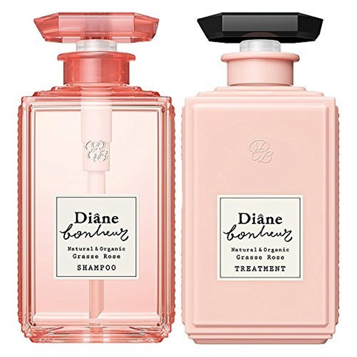 発症特別なシリングダイアン ボヌール グラースローズの香り ダメージリペア シャンプー & トリートメント セット 500ml×2