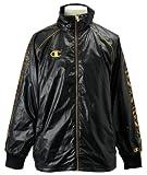 (チャンピオン)Champion ウインドブレーカーシャツ CJ1513 KG ブラック×ゴールド L