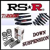 RS-R ( アールエスアール )  ダウンサス  Ti2000 DOWN  ラパン HE21S 【 リアのみ 】 S112TDR