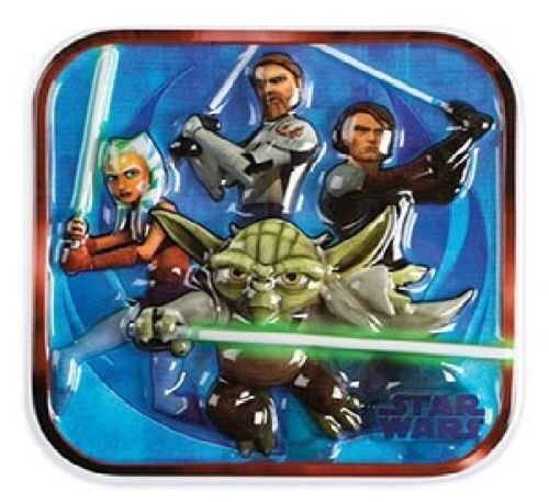 loonballoon Star Warsクローン戦争ヨーダプラスチック誕生日ケーキ装飾トッパーリヨン2d Pop Top