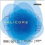 D'Addario ダダリオ ウッドベース(コントラバス)弦 H610 3/4M Helicore Orchestral Bass Strings / SET 【国内正規品】