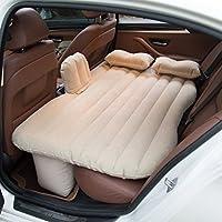 SUV車のエアベッド屋外旅行エアマットレスセクシーなインフレータブルマットレスベージュキャンプ自動延長バックシートクッションソファ