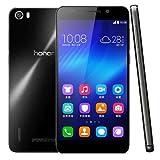 Huawei Honor 6 16GB SIMフリー スマートフォン , 5.0 inch スクリーン , Model: H60-L02 , Android 4.4 Kirin 920 8 Core 1.3GHz , RAM: 3GB, Network: 4G ブラック [並行輸入品]