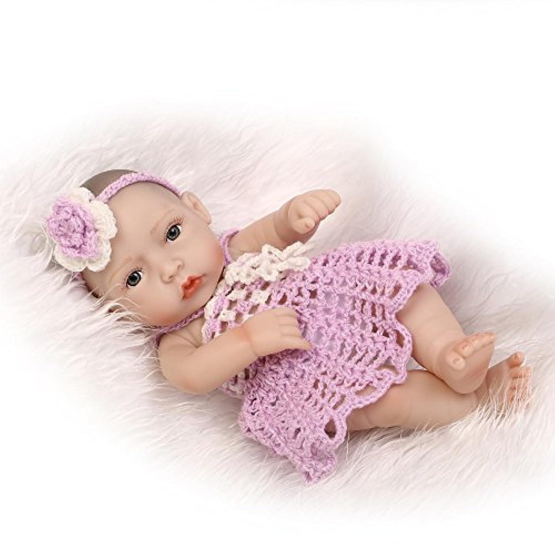 Nicery 生まれ変わった赤ちゃん人形おもちゃハードシミュレーションシリコンビニール11インチ28cm防水おもちゃとギフト Reborn Baby Doll RD28A023G