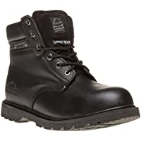 Groundwork Worker Mens Boots Black