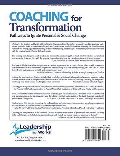 All About Coaching For Transformation Pathways To Ignite Personal