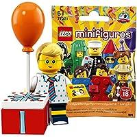 レゴ(LEGO) ミニフィギュアシリーズ 18 バースデーパーティーボーイ【未開封】| LEGO Collectable Minifigures Series 18 Birthday Party Boy 【71021-16】