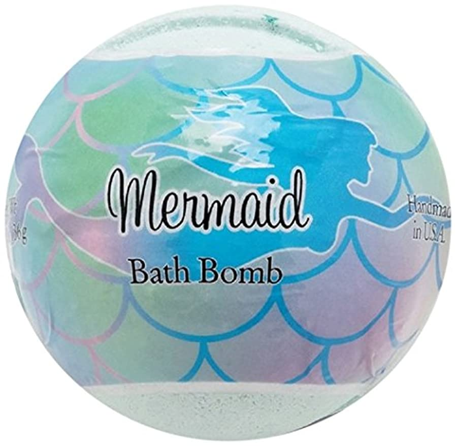 球状蒸発するなしでプライモールエレメンツ バスボム/マーメイド 136g シアバターとココナツ&アルガンオイル配合のお肌に潤いを与える発泡性入浴剤