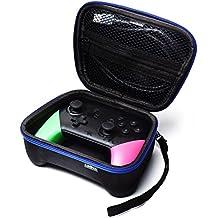 Nintendo Switch Pro コントローラー ケース カバー 収納 任天堂 ニンテンドー スイッチ プロコン カードケース付き XboxOne ゲームキューブ コントローラーも収納可能 (レオヤ)LEOYA