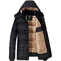 Forpend 冬メンズ アウトドアウェア  防寒コート ウトドア ダウン風 コート  冬 ジャケットフード付