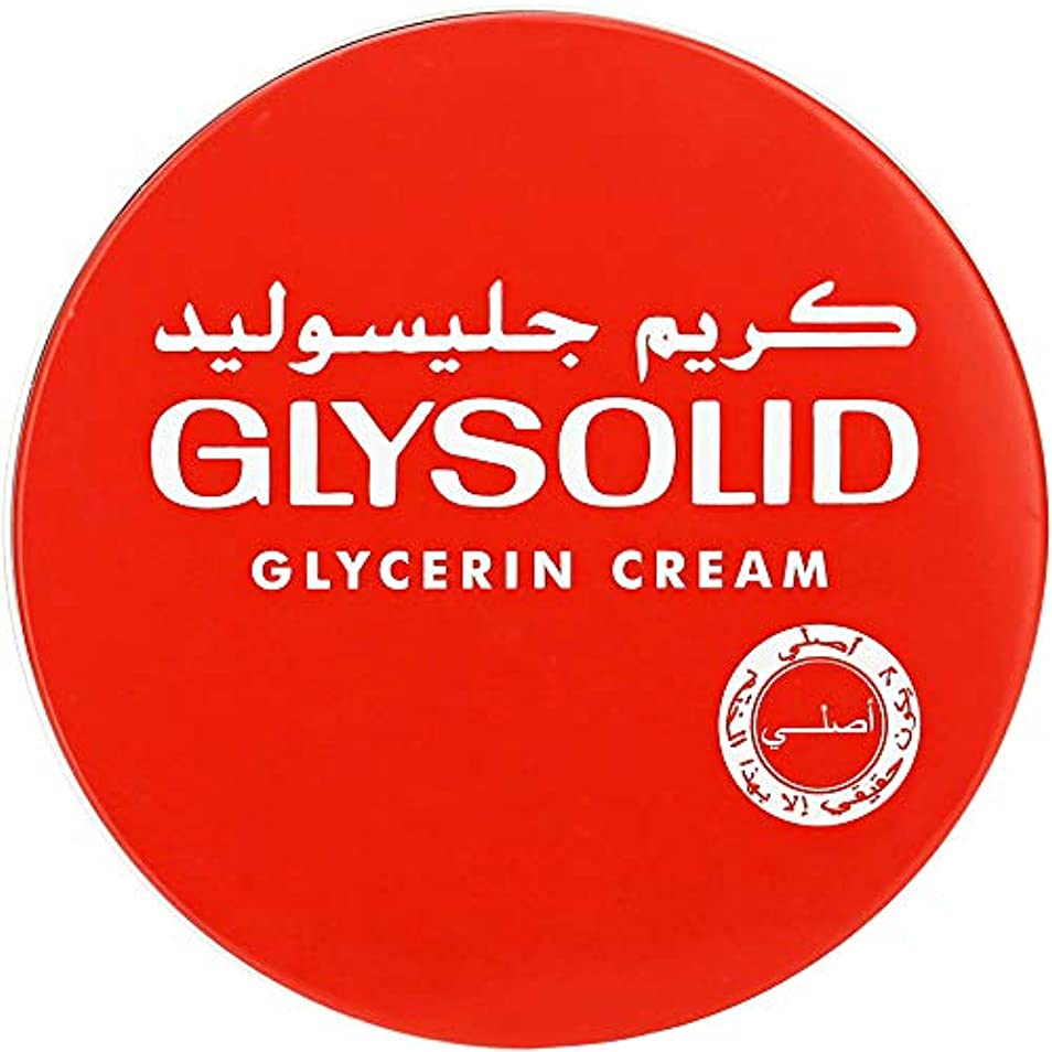 のぞき穴飢え確かめるGlysolid Cream Face Moisturizers For Dry Skin Hands Feet Elbow Body Softening With Glycerin Keeping Your Skin...