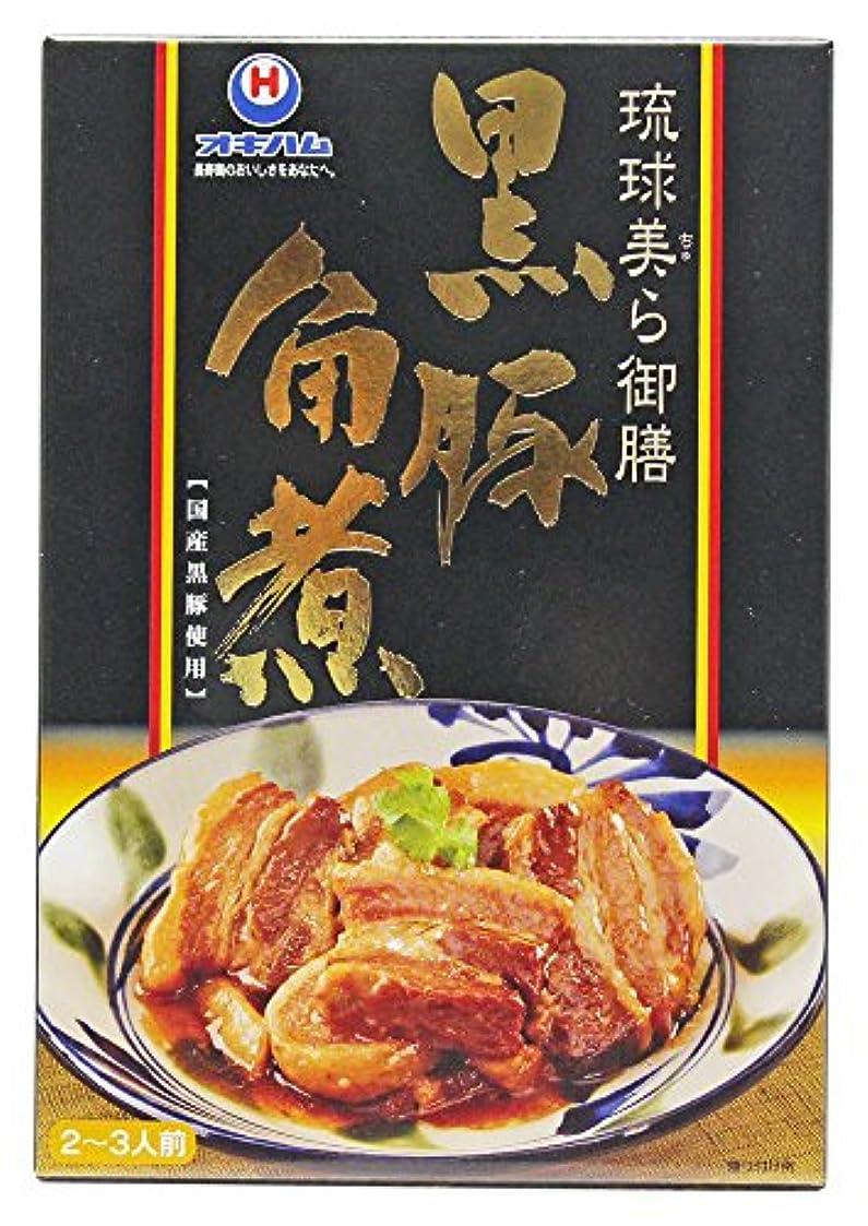 下に向けますすばらしいです真空沖縄ハム総合食品 琉球美ら御膳 黒豚らふてぃ 200g