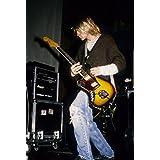 Kurt Cobain–Nirvana 18x 24ポスター新しい。Rare 。# bhg797539