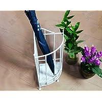 傘の収納 傘ラックアイロンコンチネンタル多機能傘ラックホテルロビークリエイティブアイアン傘バケットラックストレージラック 貯蔵傘