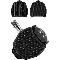 ペダルプレート シマノSPD-SL互換タイプ 自転車&バイク用フラットペダル変換アダプター ビンディング自転車用パーツ
