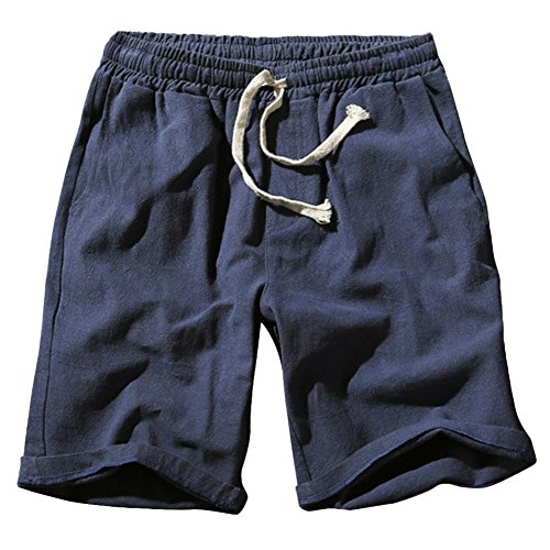 (デマ―クト)De.Markt メンズ パンツ ズボン ワイドパンツ ジムウェア スポーツ ランニング フィットネス ポケット ファッション 短パン カジュアル 無地 調整紐 ゆったり 通気性