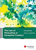 Cover of The Law of Misleading or Deceptive Conduct, 5th edition