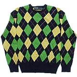 (ポロ ラルフローレン) セーター カシミア混 アーガイルネイビー Polo Ralph Lauren 570[並行輸入品] S