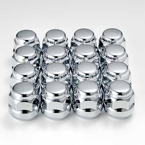 ホンダ『純正タイプ』4穴 ホイール用ショートナット クロームメッキ1台分16個