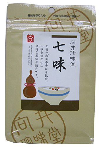 向井珍味堂 向井の手づくり香辛料 七味 15g ×10セット