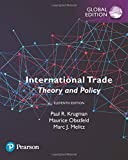Cover of International Trade: Theory and Policy, Global Edition