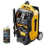 リョービ(RYOBI) 高圧洗浄機 50Hz用 AJP-2100GQF 泡ノズル+撥水剤入りカーシャンプーセット 4989748