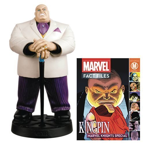 Marvel Fact Files Special # 19キングピンStatue withコレクターMagazine