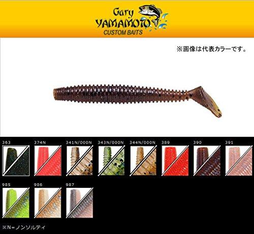 ゲーリーヤマモト 2.5インチ レッグワーム 341N/000N