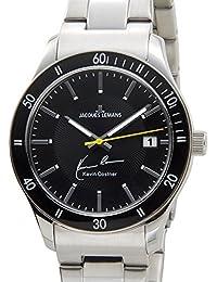 ジャック ルマン Jacques Lemans メンズ 腕時計 11-1622-7 JACQUES LEMANS ケビンコスナー・コレクション クォーツ デイト サイン入り [並行輸入品]